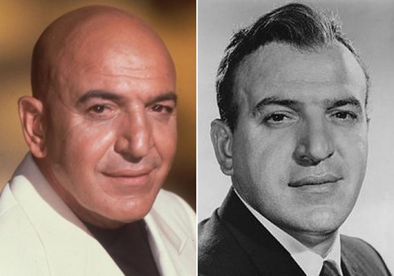 Az arc nem sokat változott az évek során, azonban a haj gyorsan eltűnt az Oscar-díjas színész fejéről. A hajas fotó a hatvanas években készült.