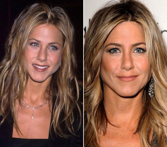 A 43 éves Jennifer Aniston még ma is úgy néz ki, mint egykoron a Jóbarátok Rachelje.