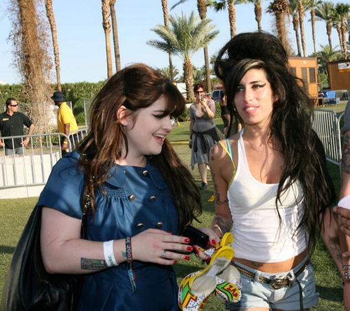 Kelly Osbourne és Amy Winehouse