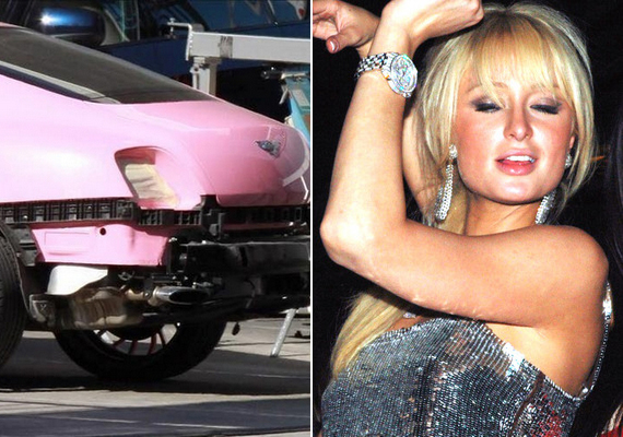 Paris Hilton nem egy autóbalesetet élt már túl. Korábbi párjával, Stavros Niachossal ütköztek már paparazzóval is, legismertebb esete mégis az, amikor pink Bentley-jének hátsó részét barátnője Cadillacje amortizálta le. A világ alighanem legismertebb autójának javítása több mint ötezer dollárba került.