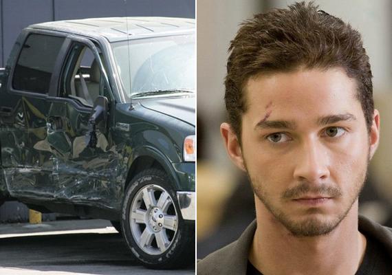 Shia Labeouf 2008-ban ittas vezetés közben törte össze méregzöld Ford terepjáróját. Bár makacsul tagadta, hogy ő lett volna a felelős a balesetért - azt állította, zöldet kapott, és a másik autó beleszaladt -, a rendőrök letartóztatták. Súlyos sérülései miatt a Transformers 2 forgatókönyvét is át kellett írnia a stábnak.