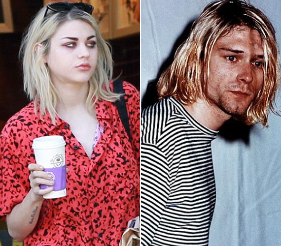 Kurt Cobain lánya bár nem ismerhette az édesapját, stílusát tekintve is hasonlítanak.