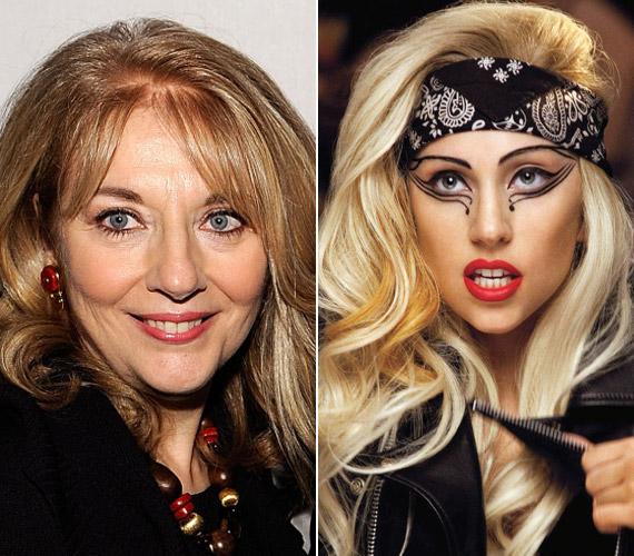 A híres énekesnő sokak szerint nagyon hasonlít az anyukájára.