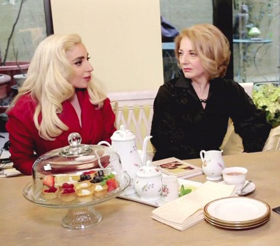 Lady Gaga a közelmúltban anyukájával, Cynthiával együtt volt Oprah Winfrey műsorának vendége.
