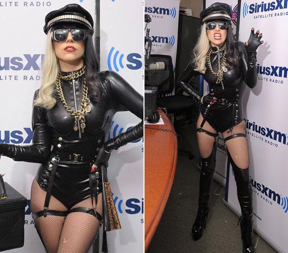 Júliusban szado-mazo stílusú szerelésben ment Howard Stern rádiós stúdiójába, ahol kendőzetlenül mesélt a szexről és a drogozásról.