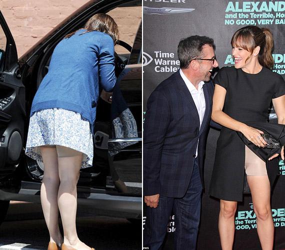 Jennifer Gardner nemcsak a premiereken, de a mindennapi életben is használja a Spanxot.