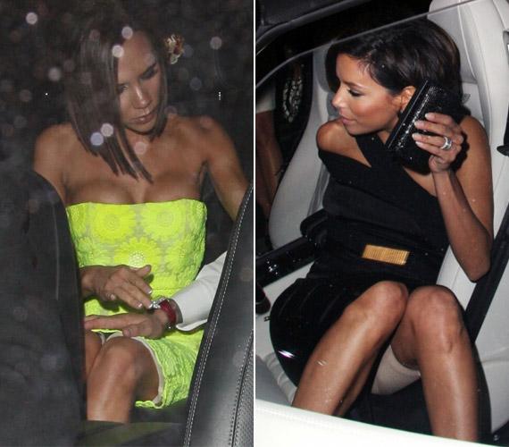 Még az olyan vékony sztárok is hordják az alakformáló nadrágot, mint Victoria Beckham vagy Eva Longoria.