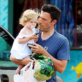 Ben Affleck lányával