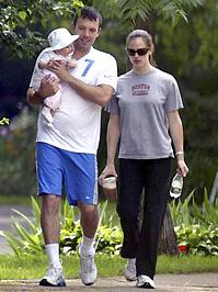 Ben Affleck családjával