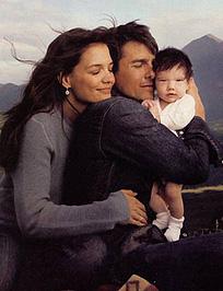 Tom Cruise és családja