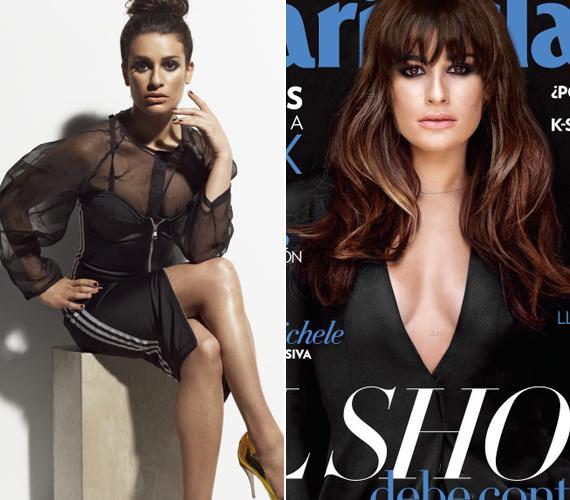 Többször szerepelt már magazinok címlapjain, míg a sorozatban egy rosszul öltöző lánykát játszott, a képsorokon mindig a végzet asszonyává alakítják át.