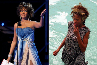 Whitney Houston Grammy-díjas énekesnő