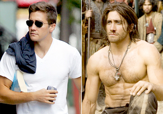 Jake Gyllenhaal a Perzsia hercege című film miatt gyúrta ki magát, a hölgyrajongók nagy örömére.