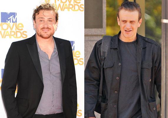 A mindenki kedvenc Marshallját alakító Jason Segel az Öt év jegyesség című film kedvéért 16 kilót dobott le magáról, ami a 192 centiméter magas színészen igencsak meglátszott.