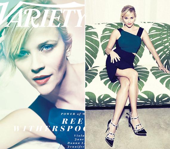 Reese Witherspoon 38 éves, három gyermek édesanyja, ám alakját bárki megirigyelhetné.