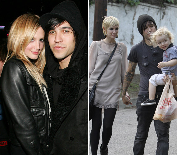Ashlee Simpson testvéréhez, Jessicához hasonlóan nagyon fiatalon, 23 éves korában mondta ki a boldogító igent a Fall Out Boy nevű csapat énekesének, Pete Wentznek. Hamarosan született egy gyermekük, de 2011-ben ők is elváltak.