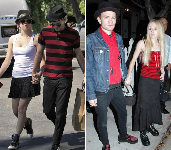 Avril Lavigne 21 évesen házasodott össze a Sum 41 együttes énekesével, Deryck Whibley-vel. Három év múlva szétváltak, de barátságuk megmaradt.