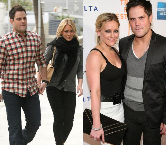 Hilary Duff 22 éves volt, amikor kimondta a boldogító igent párjának, a hokijátékos Mike Comrie-nak. Idén márciusban megszületett első közös kisfiuk, Luca Cruz.