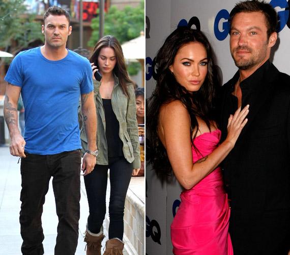Megan Fox színésznő 24 éves volt, amikor hozzáment a Született feleségekből jól ismert sármos színészhez, Brian Austin Greenhez. Jelenleg várják első közös gyermeküket.