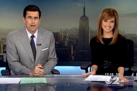 A CBS műsorvezetője, Robert Morrison is alaposan elszólta magát a híradóban, amikor Vilmos herceget a Duke megnevezés helyett Douche-nak hívta - ami nem mellesleg szemétládát jelent.