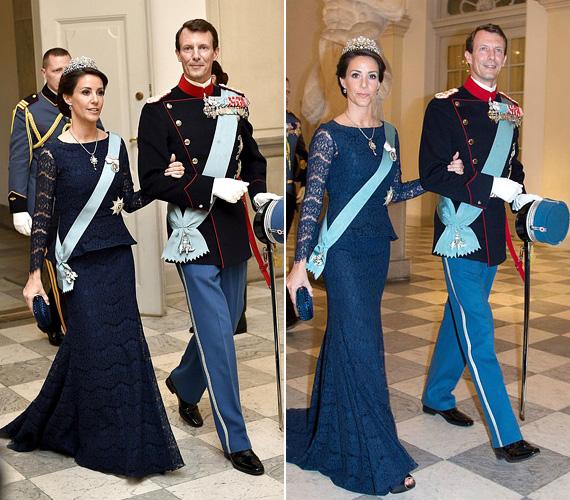 Marie dán hercegné egy sötétkék csipkés ruhát választott a születésnapi rendezvényre, ahová elkísérte férje, Joakim dán herceg is. 2008-ban házasodtak össze, két gyermekük van.