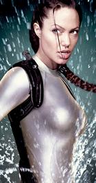 Angelina Jolie mint Lara Croft
