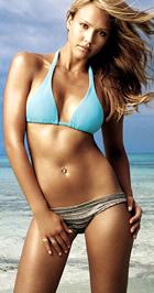 Jessica Alba pici de szép keblei