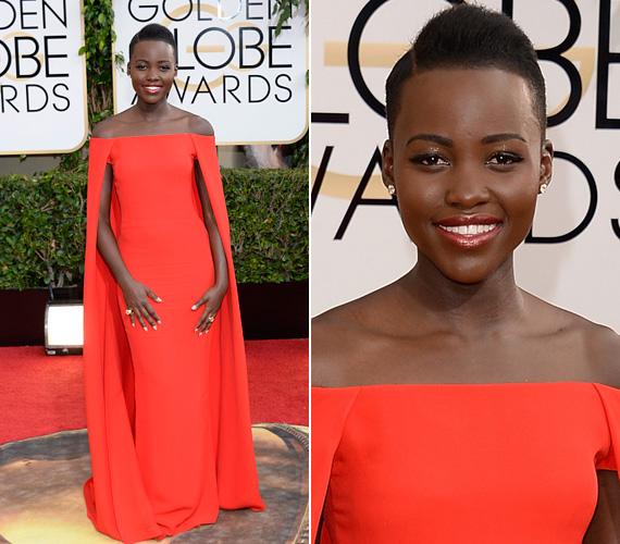 Az év felfedezettje Lupita Nyong'O, aki a 12 év rabszolgaság című film révén vált hirtelen ismertté. A 31 éves színésznő olyan gyönyörű volt vörös Ralph Lauren ruhájában, mint egy szobor, amikor megjelent a január 12-én tartott Golden Globe-on. Bár az Arany Glóbuszt végül nem vihette haza, cserébe viszont az Oscart igen, a fentebb említett film mellékszerepének eljátszásáért.
