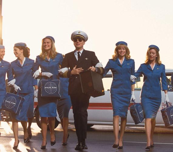 A szél hámos szerepét kapta Leonardo DiCaprio a Kapj el, ha tudsz! című filmben, amelyben pilótának is beállt.