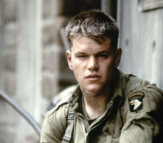 Matt Damon emlékezetes szerepe a Ryan közlegény megmentése című filmben.