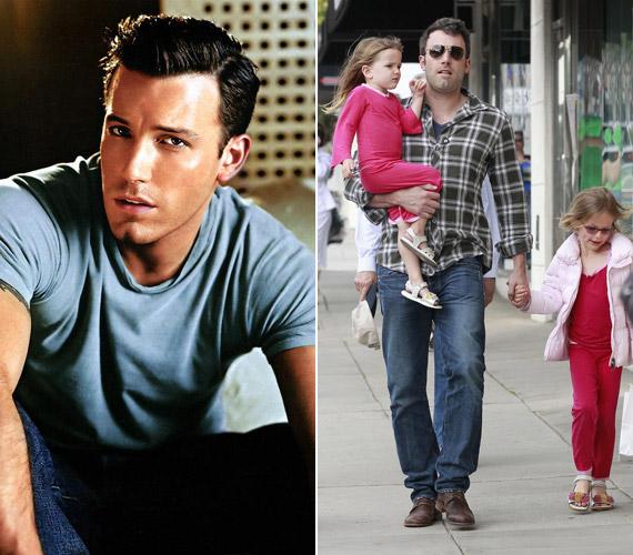 A 39 éves Ben Afflecknek és feleségének, Jennifer Garnernek három közös gyermeke, két kislánya és egy kisfia van.