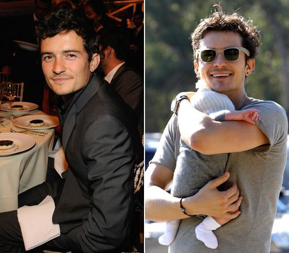 A 35 éves Orlando Bloomnak feleségétől, a modell Miranda Kerrtől tavaly januárban született meg az első gyermeke, Flynn.