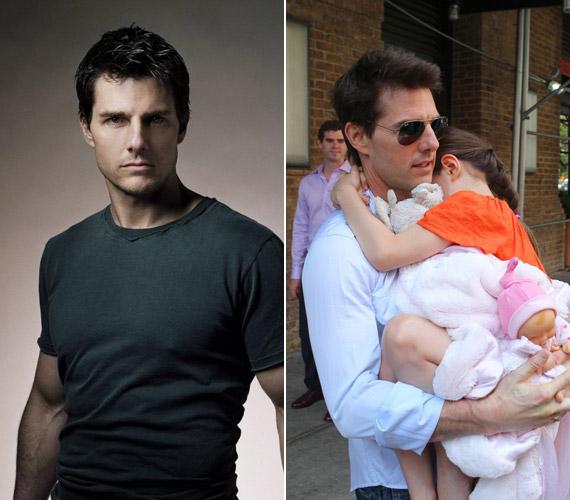 Az 50 éves Tom Cruise-nak és volt feleségének, Katie Holmesnak 2006-ban született egy gyönyörű kislánya, aki a Suri nevet kapta.