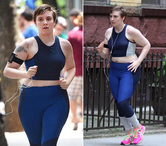 Testalkata miatt szeretik azt gondolni róla, hogy lusta, és utál mozogni, pedig ez nem így van. Ezek a képek is szerdán készültek, amikor kocogni indult.