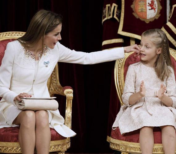 Most Leonor a legfiatalabb trónörökös Európában, aki első a trónutódlási sorban.