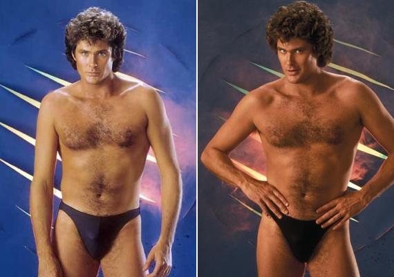 David Hasselhoff sosem volt szégyenlős fajta. A Baywatch vízimentője bármikor lekapta a nadrágját.