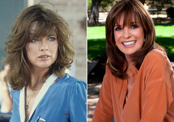 Linda Grey régen és ma. 37 év telt el a forgatás óta, de a Dallas Samantháját alakító színésznő alig változott valamit.