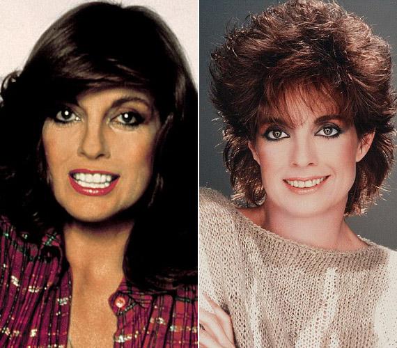 A bal oldali kép 1978-ban készült, amikor elkezdték a Dallas című sorozatot forgatni, mellyel egy csapásra híres lett. A jobb oldali 40 éves korában készült.