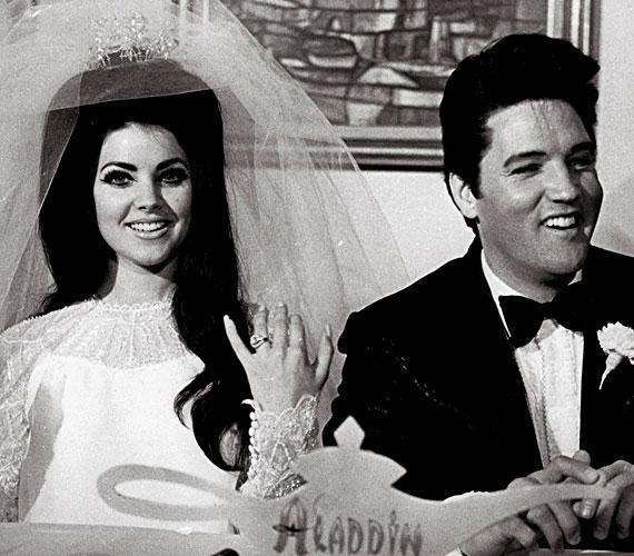 Elvis Presley özvegyeként azonban szépségén kívül nem sok érdemet tudott felvonultatni.