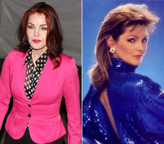 Ugyanez nem mondható el Priscilla Presley-ről, aki a sorozatban Bobby szerelmét, Jennát alakította. Mára a mértéktelen plasztikai beavatkozások következtében arca teljesen eltorzult.