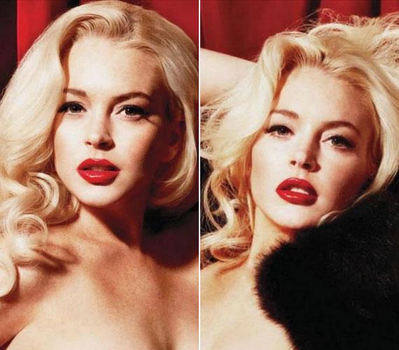 Szexi fotósorozata a Playboy 2011-es januári-februári számában jelent meg.