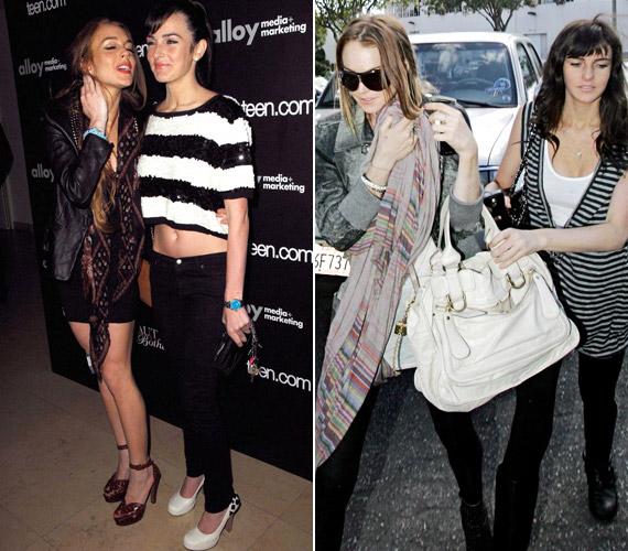 Lindsay Lohan gyakran viszi magával húgát, Alit - a nővérek külsőre le sem tagadhatnák egymást.