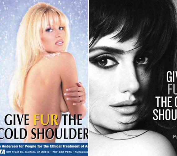 Pamela Anderson amerikai és Penelope Cruz spanyol színésznő is állítják, inkább fáznának, minthogy állatszőrmébe bújjanak.
