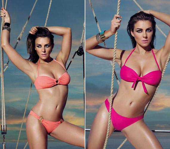 Nem ez az első eset, hogy a 40 feletti sztár lenyűgözően tökéletes, kortalan testét bikinis fotósorozat örökíti meg.