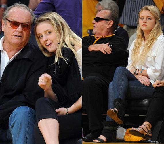 Apa és lánya igyekeznek minél több időt egymással tölteni. Gyakran látni őket a Los Angeles Lakers szurkolóinak sorában.