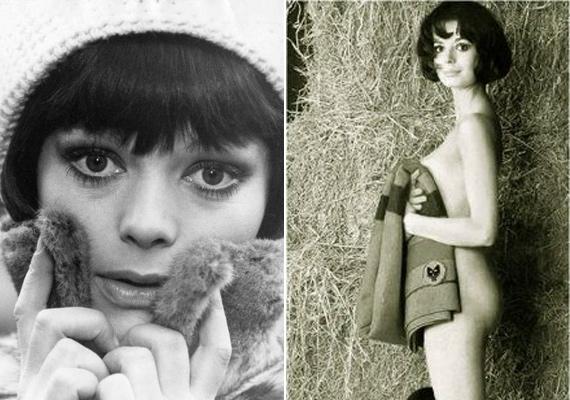 Még aktfotókhoz is modellt állt, bár a francia lányoknak ez szinte kötelező volt akkoriban.