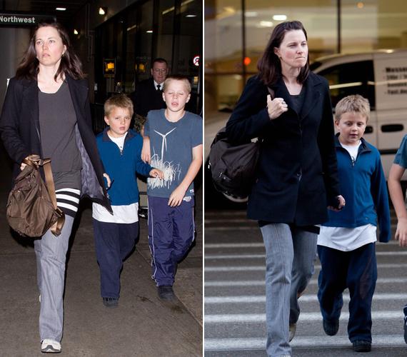 Nagyobbik fiuk, Julius Robert Bay 1999-ben jött a világra, a kisebbik, Judah Miro 2002-ben. A srácok is inkább az anyjukra ütöttek.