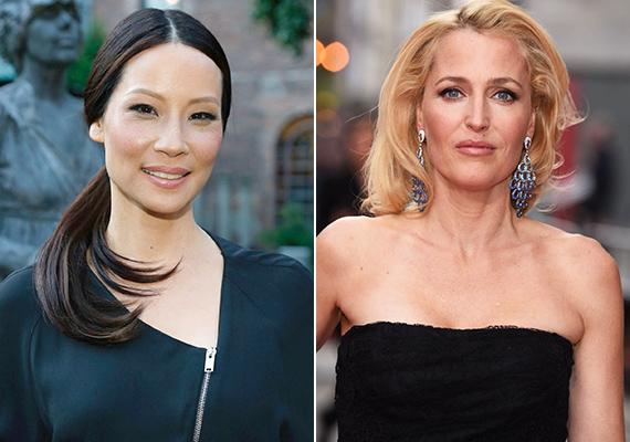 A Sherlock és Watson sztárja, Lucy Liu, valamint a Scully ügynököt alakító Gillian Anderson ugyanabban az évben, 1968-ban születtek. Ám míg Liu letagadhatna legalább 15 évet, addig Anderson a korának megfelelően néz ki. Liu egyébként nemcsak a génjeinek, hanem egészségtudatos életmódjának is köszönheti fiatalos megjelenését.