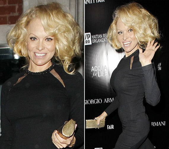 Pamela Anderson is kissé nevetségesen nézett ki új frizurájával.