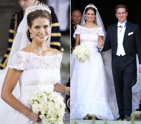 2013-ban az év egyik legjobban várt frigye volt Madeleine hercegnő és a New York-i üzletember, Christopher O'Neill esküvője, melyre június 8-án Stockholmban került sor.